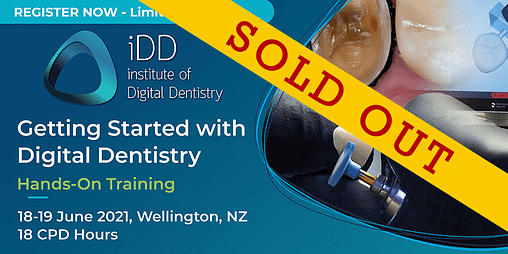 sold out course hands-on digital dentistry training